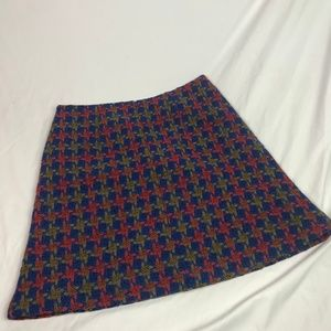 Boden | Size 10R. Wool Blend Lined Skirt